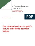 Emprendimientos Culturales- Clase 3