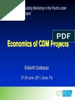 1.4 Economics Cdm Projects Srikanth