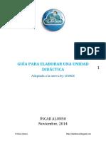 Guía Para Elaborar Una Unidad Didáctica _adaptada a La Lomce