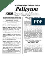 May 2006 Peligram Newsletter Pelican Island Audubon Society