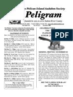 November 2006 Peligram Newsletter Pelican Island Audubon Society