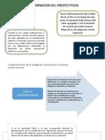 Determinacion Del Credito Fiscal