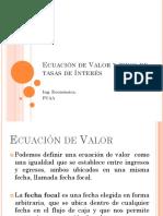 3. Ecuación de Valor y Tipos de Tasas de Interes (3)