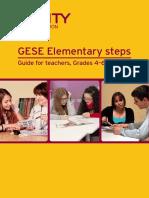 GESE Elementary Steps - Guide for Teachers 2014
