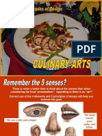 39 Design in Culinary Arts