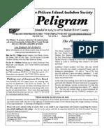 January 2007 Peligram Newsletter Pelican Island Audubon Society