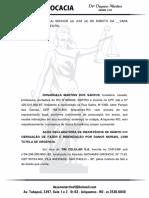 Ação Declaratória de Inexitência de Débito CC Obrigação de Fazer e Indenização por Danos Morais com Pedido Liminar de Tutela Antecedente.docx