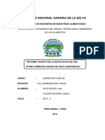 Informe Tecnico de Plantas