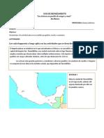Guia de Tomas 4to Basico Los Aztecas