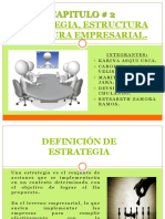 Cap. 2 Estrategia Estructura y Cultura Empresarial