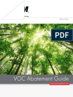 The CMM Group Guide to Volatile Organic Compound Abatement