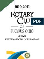Rotary Bucyrus Handbook 2010-11