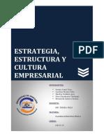 Cap. 2 Estrategia Estructura y Cultura