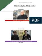 documentary analysis assignment