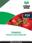 Tomato Production Guideline 2014