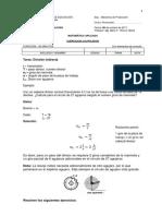 Prueba de Matematica Aplicada 2017