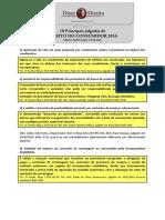 Principais Julgados de Direito Do Consumidor 2016