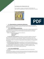 Fundamentos y Leyes Básicas de La Electrónica I