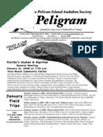 January 2008 Peligram Newsletter Pelican Island Audubon Society