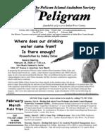 February 2008 Peligram Newsletter Pelican Island Audubon Society