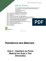 Aula 3 - Resistência Dos Materiais - Renato
