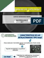 Betalactamasas de Tipo Ampc