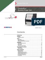 PC6012 APU Operators Manual 30-865-71D
