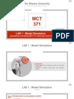 Lab 1 Presentation (ASU)