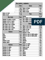 Lista de Equipo Far West