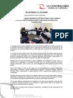 Ciudadanos de regiones afectadas por El Niño Costero serán veedores voluntarios de la Contraloría para la supervisión de obras de la reconstrucción