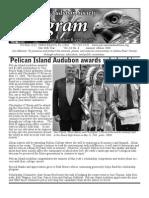 July 2008 Peligram Newsletter Pelican Island Audubon Society