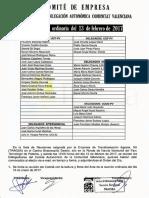 Acta Comité Autonómico Tragsa UT 2 CV 13/02/2017
