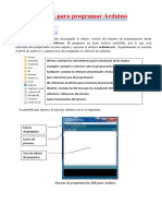 Entorno IDE Arduino