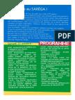 Programme SAREGA 2017