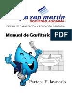Manual de Gasfitería Básica - Lavatorios - Copia