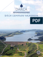 darca ditch and reservoir company handbook