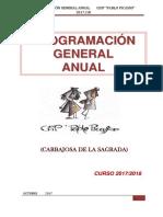 Programación General Anual (Curso 2017 - 2018)
