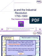 8. Medicine and the Industrial Revolution