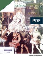 O teatro inglês da idade média até Shakespeare