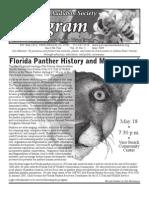 May 2009 Peligram Newsletter Pelican Island Audubon Society