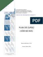 Ramona Akl Bittar, Ph.D. Metodología de la Investigación II PLAN DE CURSO