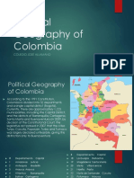Political Geography of Colombia