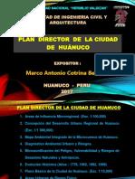 Plan Director de La Ciudad de Huánuco