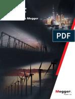 Megger CorporateBrochure ESLA V01a LR
