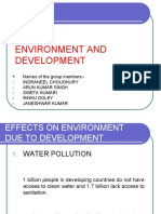 Effects on Environment Due to Development (2)