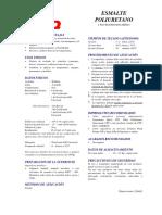 Format CPP Esm Poliuretano