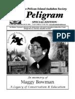 Maggy Bowman Special Edition,  Pelican Island Audubon Society