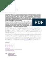 Carta al gobernador Ricardo Rosselló