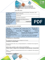 Guía de Actividades y Rúbrica de Evaluación - Fase 1 - Reconocimento
