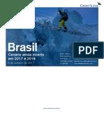 Credit Suisse Cenario Brasil 2017 2018 6Out2017